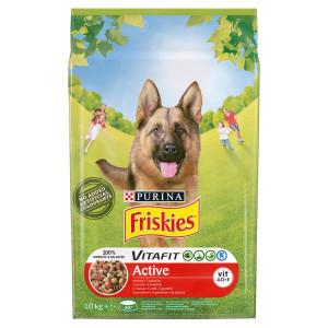 Friskies VitaFit Active hovädzím granule 10 kg 6