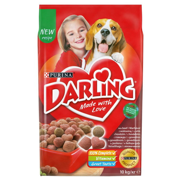 Darling s hovädzím 10 kg 1