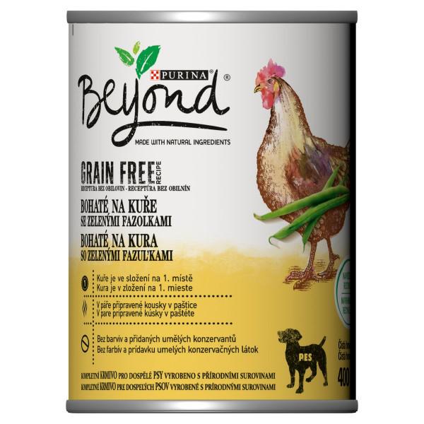 Beyond kúsky v paštéte, kura s fazuľkami 400 g 1