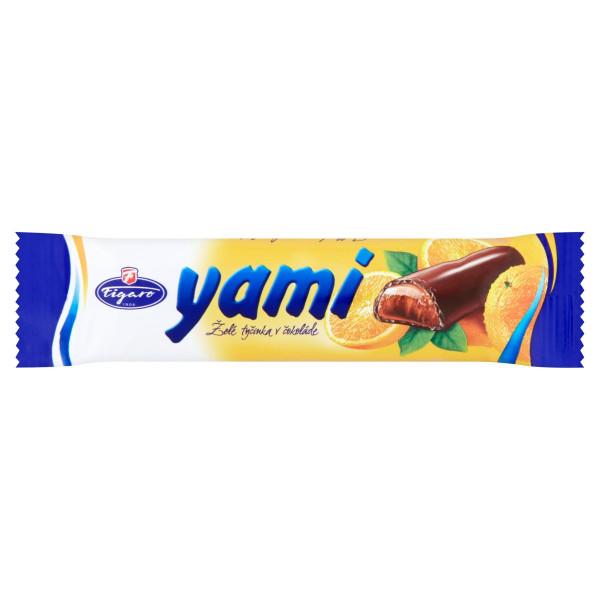 Yami Želé tyčinka pomarančová, Figaro 25 g 1