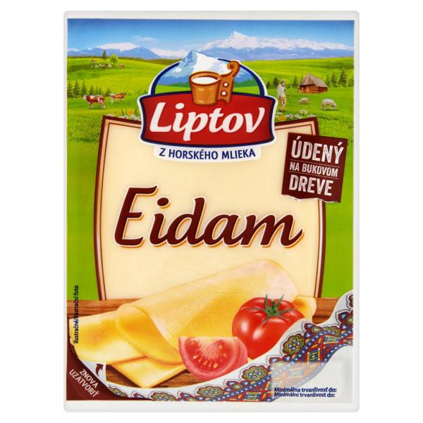 Syr 45% Eidam údený živočíšny plátky LIPTOV 100g 1
