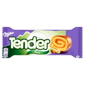 Milka Tender jemné pečivo lieskovoorieš. náplň 37g 10