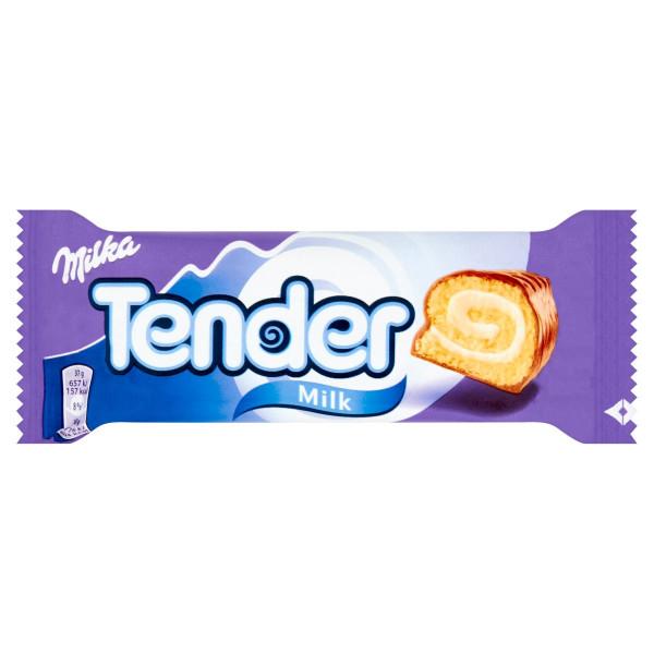 Milka Tender jemné pečivo mliečna náplň 37 g 1