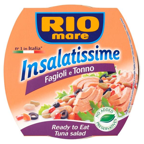 Rio Mare Insalatissime Tuniak. šalát fazuľa 160g 1
