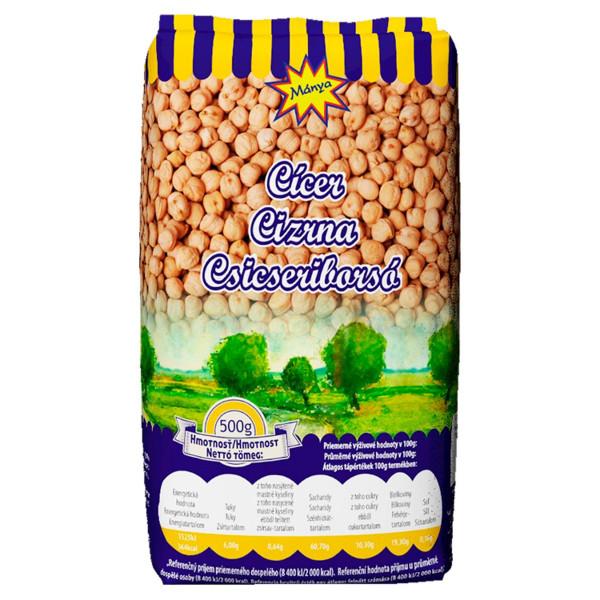 Cícer sušený MÁNYA 500g 1