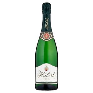 Víno šumivé b. Brut Hubert Club 0,75l 18