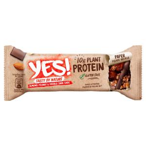 YES! Proteínová tyčinka orechy a hor.čokoláda 45g 7