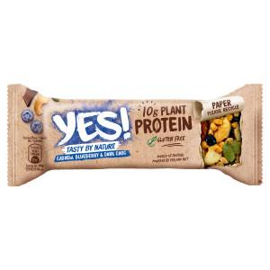 YES! Proteínová tyčinka kešu,čučoried,čokoláda 45g 6