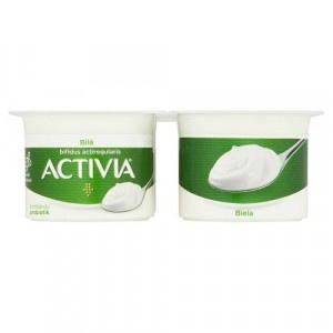 Activia jogurt biely DANONE 4x120g VÝPREDAJ 18