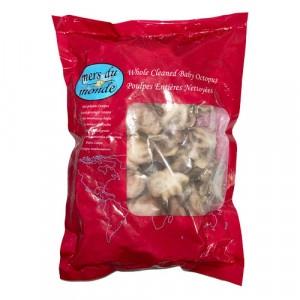 Chobotnica celá čistená surová mr.800g/1kg gl.20% 4