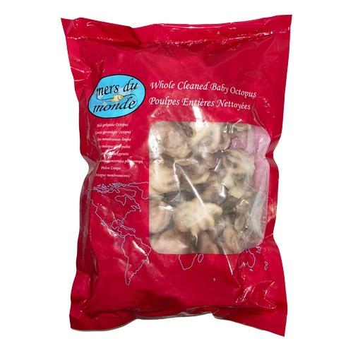 Chobotnica celá čistená surová mr.800g/1kg gl.20% 1