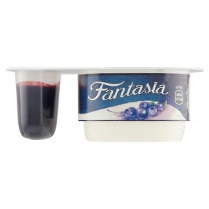 Fantasia jogurt s čučoriedka. DANONE 122g VÝPREDAJ 2