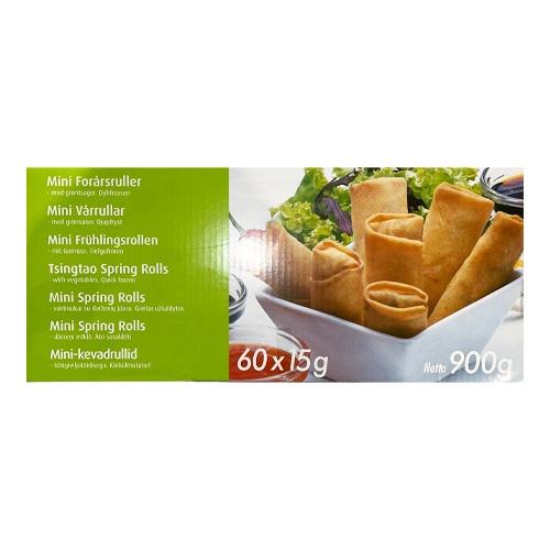 Jarné rolky zeleninové mraz. 60x15g, 900g 1