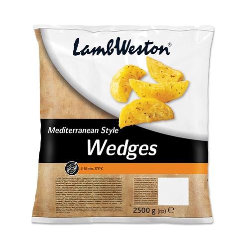 LW Americké zemiaky Mediterán mrazené 2,5kg 1