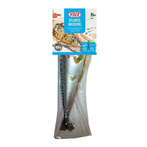 Makrela plnená zelen. a syrom mraz. VICI 400g 1