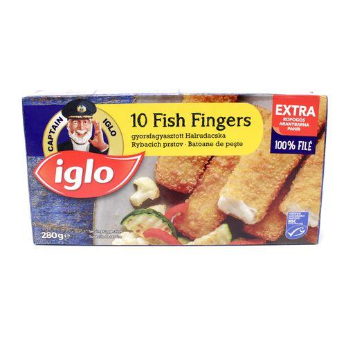 Rybie prsty 10ks mrazené 280g, Iglo 1