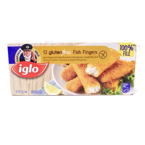 Rybie prsty bezlepkové mrazené 360g, Iglo 1