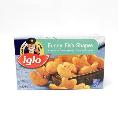 Veselé rybičky mrazené 300g, Iglo 1