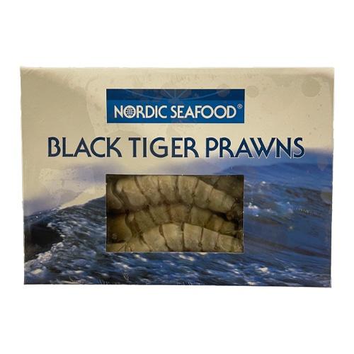 Krevety Tigrie celé, mraz.,750g/1kg gl.25% 1