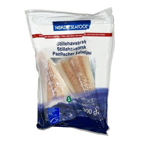 Treska aljašská filet bez kože a kostí mraz. 300g 1