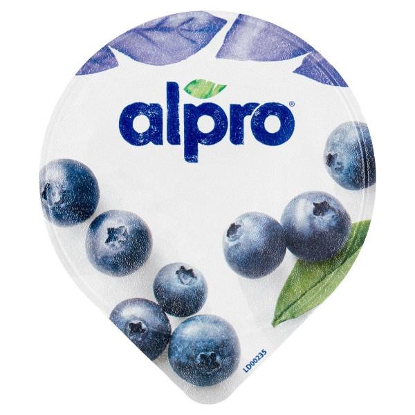 Jogurt sójový čučoriedka ALPRO 150g VÝPREDAJ 1