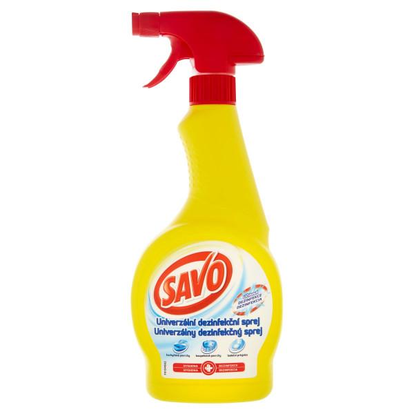 Savo Univerzálny dezinfekčný sprej 500 ml 1