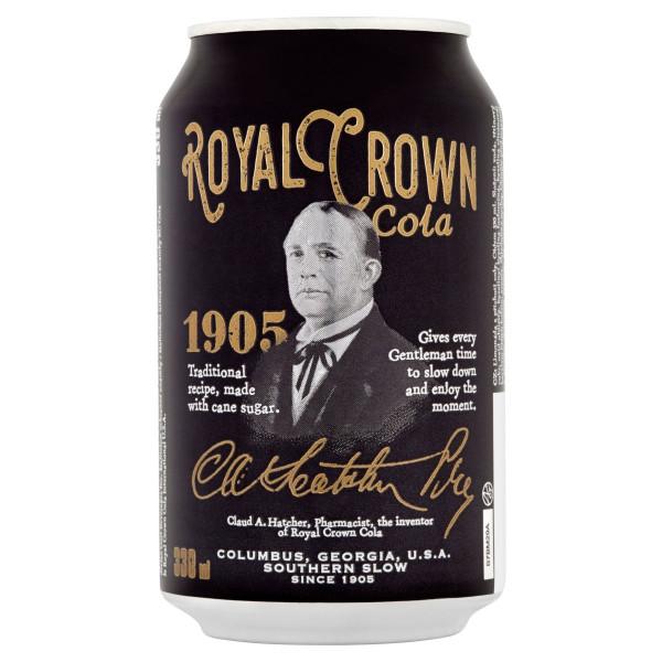 Cola Royal Crown 0,33l plech 1