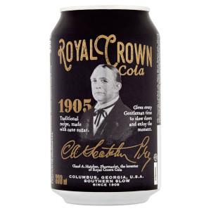 Cola Royal Crown 0,33l plech 2