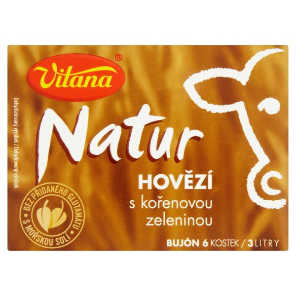 Vitana Natur bujón hovädzí s koreň. zeleninou 60g 1