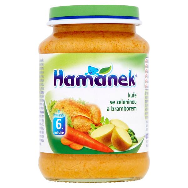 Hamánek Kurča so zeleninou a zemiakmi 190 g 1