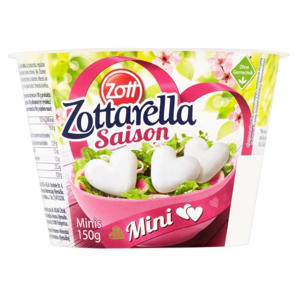 Zottarella Minis Srdiečka ZOTT 150g 1