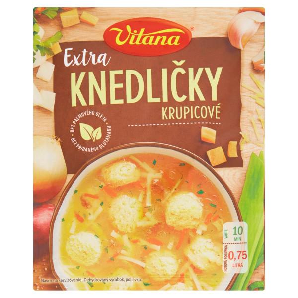 Vitana polievka Extra knedličky krupicové 52 g 1