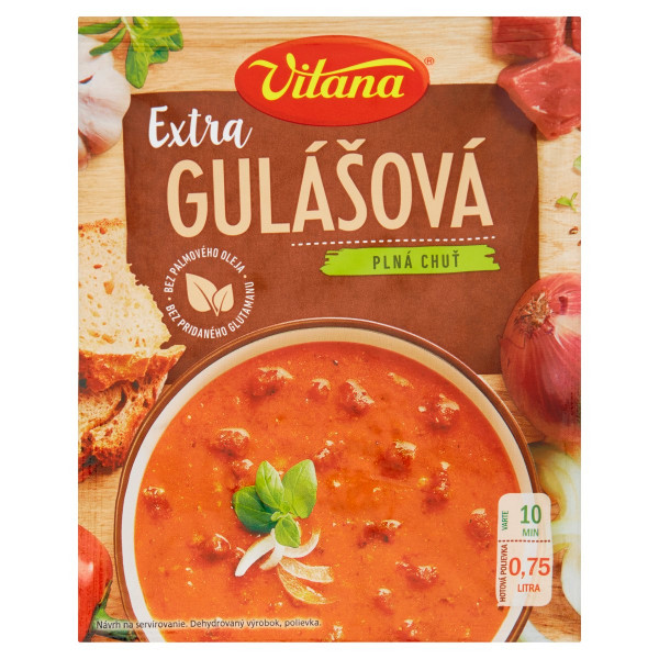 Vitana polievka Extra gulášová 95 g 1