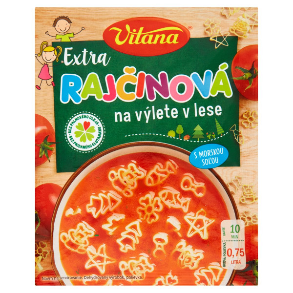 Vitana polievka Extra rajčinová na výlete 86 g 1