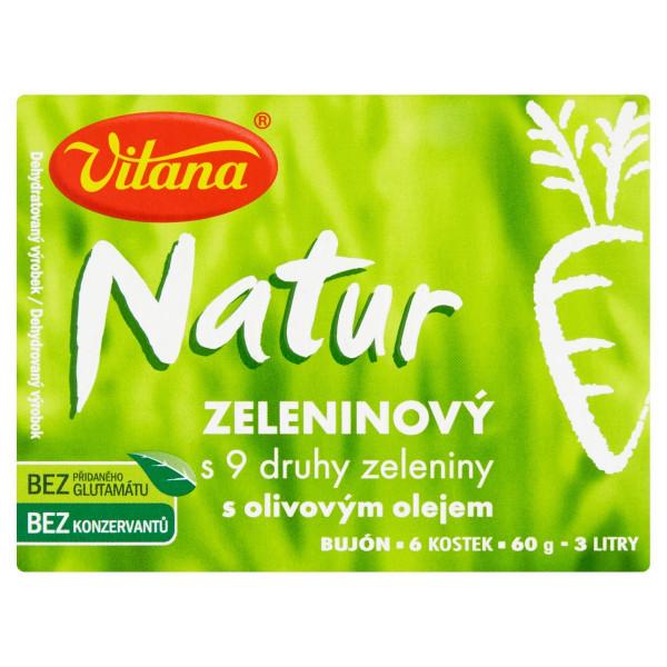Vitana Natur bujón zeleninový s 9 druhmi zelen.60g 1