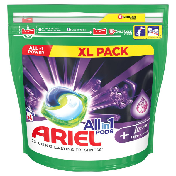 Ariel All In 1 Pods + Unstoppables, kapsule 44PD 1