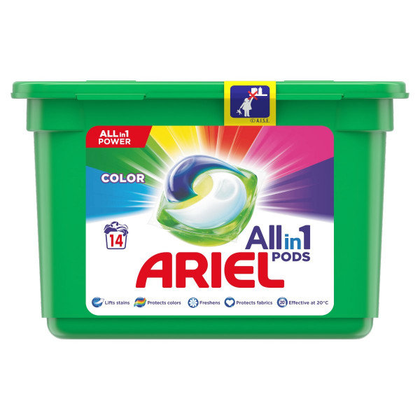 Ariel All In 1 Pods Color kapsule 14PD 1