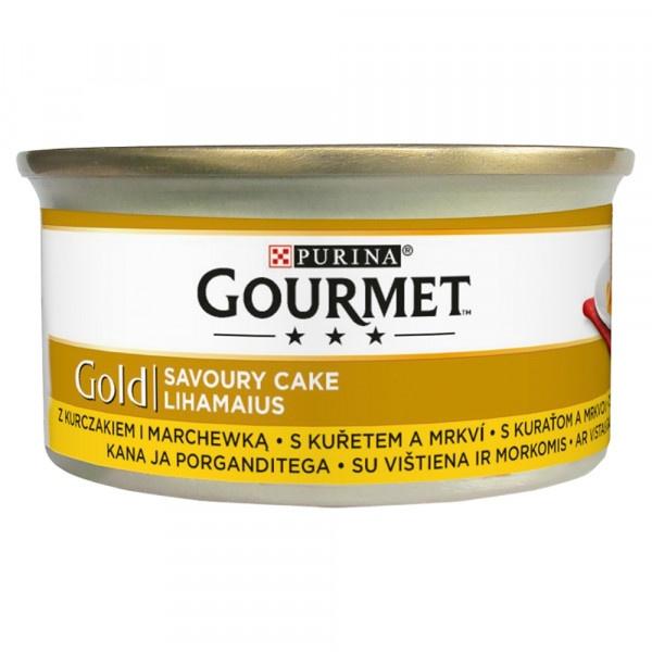 GOURMET Gold Savoury Cake s kuraťom a mrkvou 85 g 1