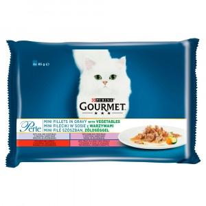 GOURMET Perle Multipack filety so zeleninou 4x85 g 17