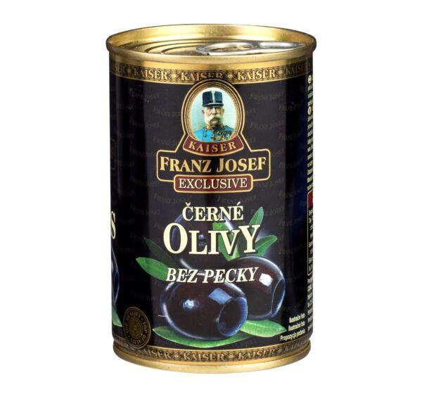 Olivy čierne bez kôstky Franz Josef Kaiser 300g 1