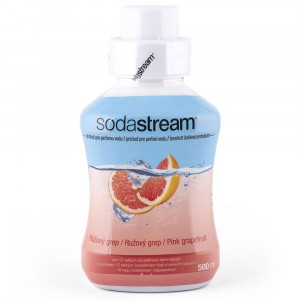 SodaStream Sirup Ružový grapefruit 500 ml 12