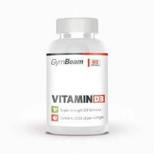 Vitamín D3 2000 IU 60 tab GymBeam 1