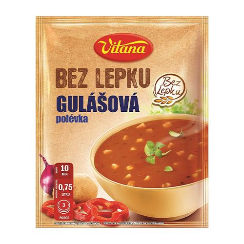 Vitana Bezgluténová gulášová polievka 60 g 1