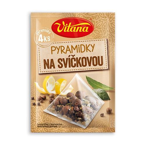 Vitana Pyramídky s korením na sviečkovú omáč. 4x5g 1