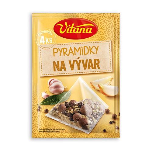 Vitana Pyramídky s korením na vývar 4 x 5 g 1