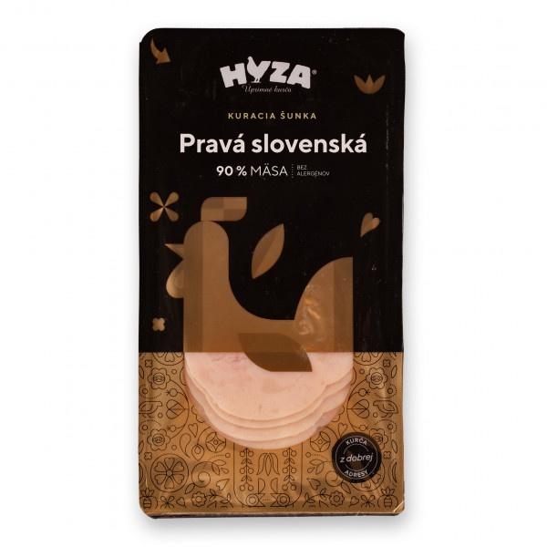 Šunka Pravá slovenská nárez kurací 90% 100g, Hyza 1