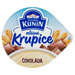 Mliečna krupica čokoláda KUNÍN 150g VÝPREDAJ 6