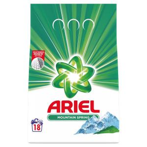 Ariel Mountain Spring prací prášok 18PD 1,35kg 2