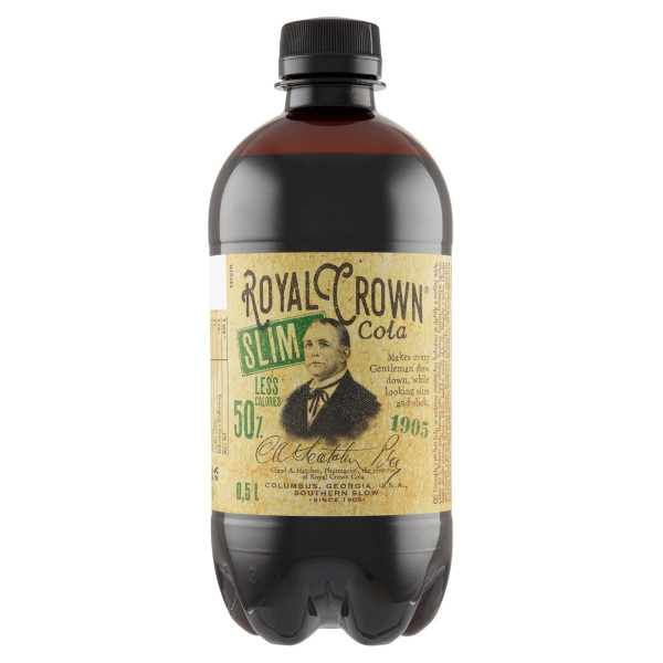 Cola Royal Crown Slim 0,5l 1
