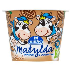 BIO Tvar. dezert MATYLDA s jog. čokoláda MILKO 90g 7